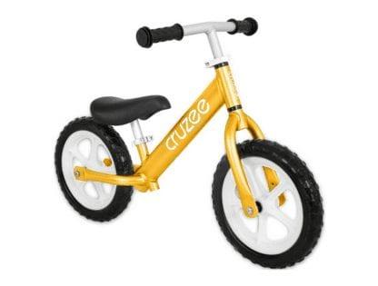 Cruzee-Balance-Bike-Gold-CRUZEE ALLOY BALANCE BIKE