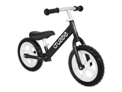 Cruzee-Balance-Bike-Black-CRUZEE ALLOY BALANCE BIKE