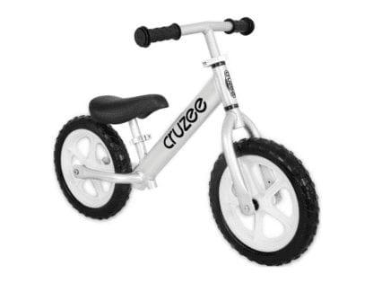 Cruzee-Balance-Bike-Silver-CRUZEE ALLOY BALANCE BIKE