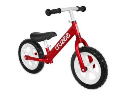 Cruzee-Balance-Bike-Red-CRUZEE ALLOY BALANCE BIKE
