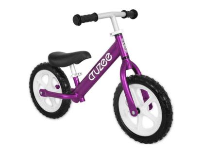 Cruzee-Balance-Bike-Purple-CRUZEE ALLOY BALANCE BIKE