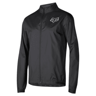 FOX ATTACK WIND JACKET BLACK front