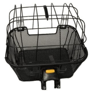 PET BASKET WITH CAGE and QUICK RELEASE mount