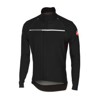 CASTELLI PERFETTO CONVERTIBLE JACKET LONG SLEEVE LIGHT BLACK