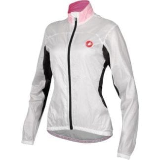 CASTELLI WOMENS VELO JACKET WHITE