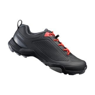 SHIMANO SH-MT3 SPD SHOES MTB TOURING BLACK-ORANGE