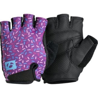 BONTRAGER KIDS GLOVES PURPLE SPRINKLES