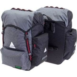 AXIOM SEYMOUR OCEANWEAVE PANNIER SET CLIP-ON 55+ LITRE PAIR