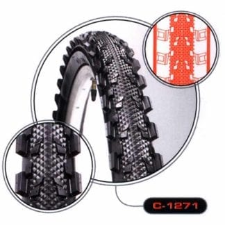 CST TYRE 26x1.95 SEMI SLICK DIMPLE C-1271