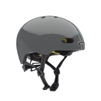 NUTCASE STREET SUIT AND TIE STRIPE MATTE REFLECTIVE MIPS HELMET