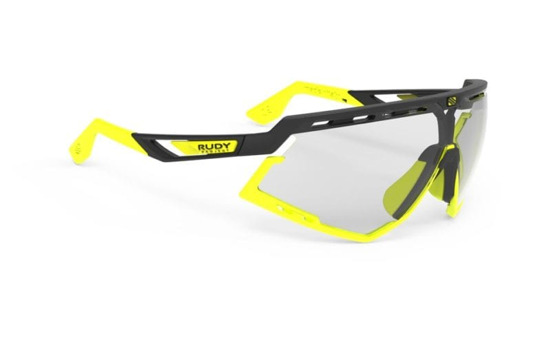 9df0b149f1 RUDY PROJECT DEFENDER GLASSES MATT BLACK YELLOW - IMPACT X2 LASER BLACK  LENSE
