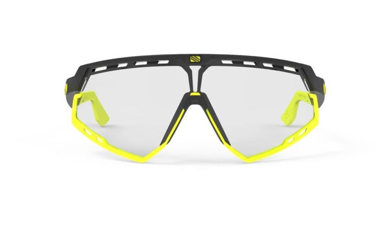414fb5bf27 RUDY PROJECT DEFENDER GLASSES MATT BLACK YELLOW - IMPACT X2 LASER BLACK  LENSE front