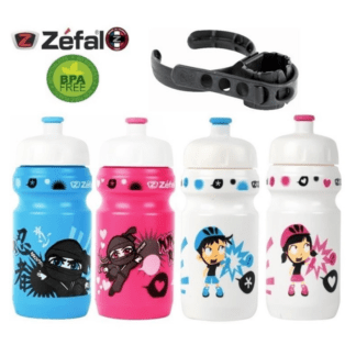 ZEFAL KIDS WATER BOTTLE 400ML WITH HOLDER