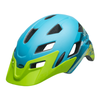 BELL SIDETRACK HELMET MATTE bright blue green