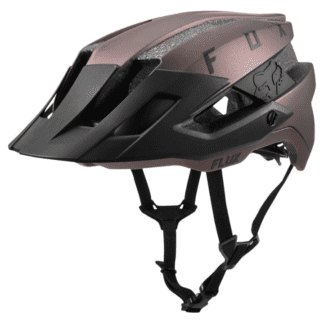 FOX FLUX HELMET BLACK IRIDIUM