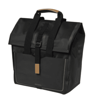 BASIL URBAN DRY SHOPPER SINGLE BAG 25L MATT BLACK