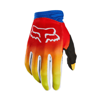 FOX YOUTH DIRTPAW FYCE GLOVE BLUE RED FADE
