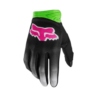 FOX YOUTH DIRTPAW FYCE GLOVE MULTI PINK GREEN