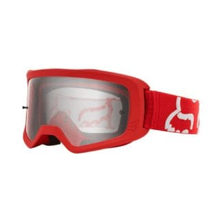 FOX YOUTH MAIN RACE GOGGLES RED