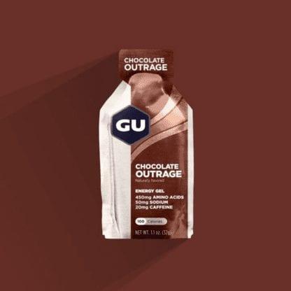 GU ENERGY GEL 32G CHOCOLATE OUTRAGE