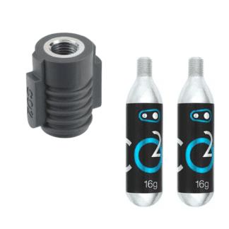 CRANKBROTHERS KLIC C02 INFLATOR INCL 2 x C02 Cartridges
