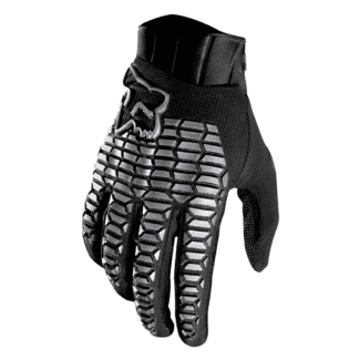 FOX DEFEND GLOVE BLACK_GREY