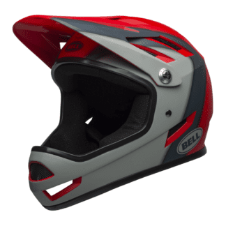 BELL SANCTION HELMET CRIMSON_SLATE_DARK GREY