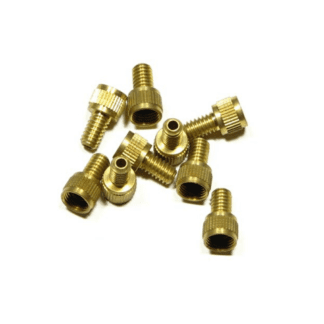 BRASS PUMP ADAPTOR SCHRADER (SV) TUBE TO PRESTA (FV) PUMP