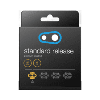 CRANKBROTHERS STANDARD RELEASE CLEAT KIT 15DEG RELEASE 6DEG FLOAT GOLD