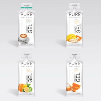 PURE ENERGY GELS 35G ORANGE LEMON LIME