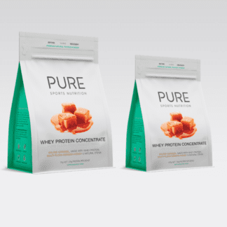 PURE WHEY PROTEIN POUCH - HONEY SALTED CARAMEL