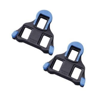 SHIMANO SPD-SL SM-SH12 CLEATS BLUE Front Floating