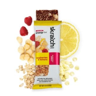 SKRATCH LABS ANYTIME ENERGY BAR 50g raspberry lemon