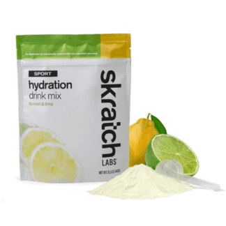 SKRATCH LABS SPORT HYDRATION DRINK MIX 440g POUCH LEMON & LIME