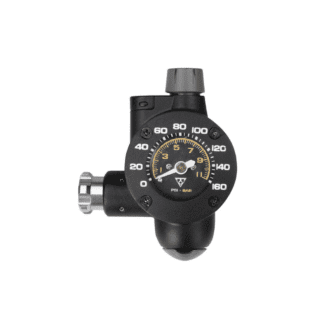 TOPEAK AIRBOOSTER G2 - TYRE PRESSURE GAUGE AND C02 INFLATOR