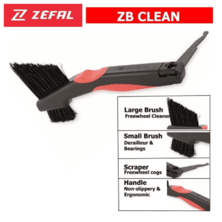 ZEFAL ZB CLEAN BRUSH - chain and cassette cleaning brush