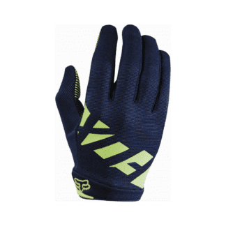 FOX WOMENS RIPLEY GLOVE NAVY YELLOW