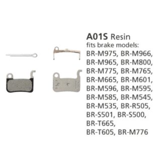 SHIMANO BR-M775 DISC BRAKE PADS A01S RESIN