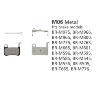 SHIMANO BR-M965 DISC BRAKE PADS M06 METALLIC