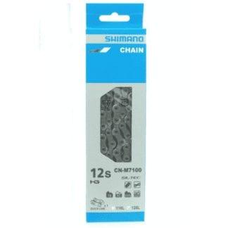 SHIMANO CHAIN SLX 12 SPEED W/QUICK LINK CN-M7100