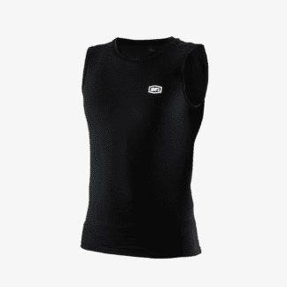 100% BASECAMP SLEEVELESS JERSEY THERMAL BLACK