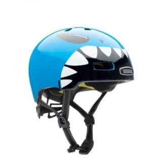 NUTCASE LITTLE NUTTY LIL' JAWS METALLIC MIPS HELMET