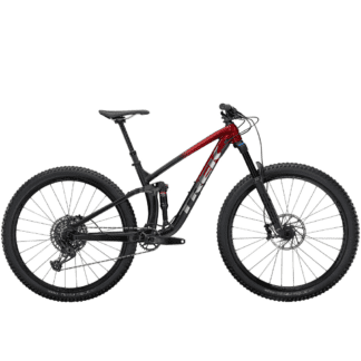 TREK FUEL EX 8 2021 RAGE RED DINSTER BLACK FADE