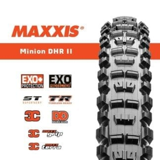 MAXXIS MINION DHR II 29 x 2.60 3C/EXO/TR MAXX TERRA FOLDABLE