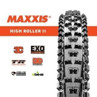 MAXXIS TYRE 27.5X2.40 HIGH ROLLER II 3C/EXO/TR MAXX TERRA