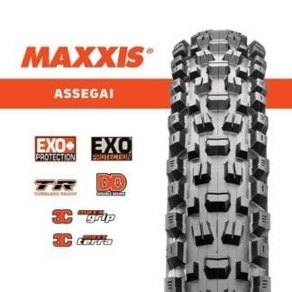MAXXIS 27.5 x 2.50 WT ASSEGAI 3C/EXO/TR MAXX TERRA FOLDABLE
