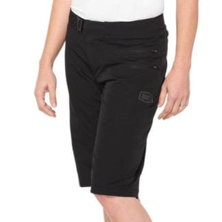 100% WOMENS AIRMATIC SHORTS BLACK