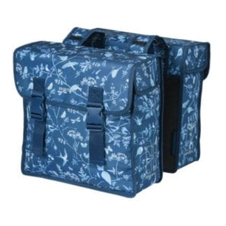 BASIL WANDERLUST DOUBLE BAG 35L INDIGO BLUE