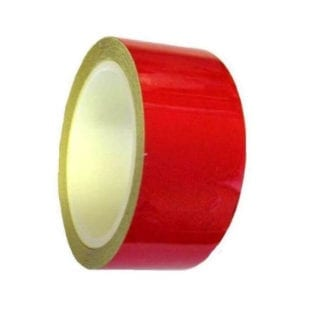 REFLECTOR TAPE RED 20MM X2.5M