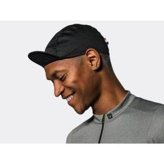BONTRAGER CLASSIC COTTON CYCLING CAP BLACK